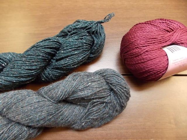 Garter Ruffle Scarf kits  | Hillsborough Yarn Shop