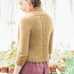 Lace and stockinette: Marigold Cardigan