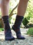 Toe-up, Two-at-a-Time, Magic Loop Socks