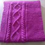 """Cables and garter stitch: Tin Can Knits' """"Bonfire"""" blanket"""